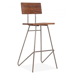 WD-570 bar stool (with backrest)