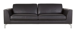 Ohio 3-seater Sofa  (leather)