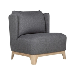 Alma armchair (without buttons)