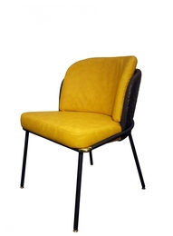 Fil Noir dining chair, Желтый